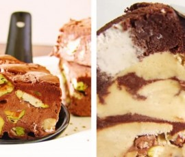Let's roll, swiss ice cream roll cake