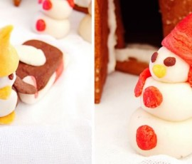 Gingerbread House for the Daring Bakers